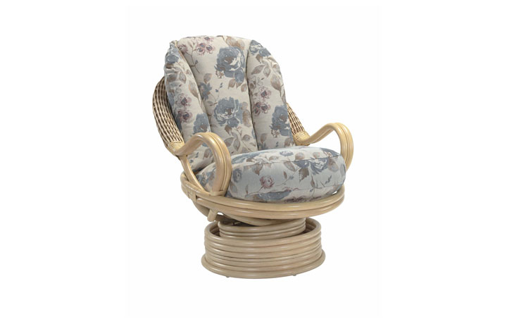 Opera Range in Natural Wash - Opera Swivel Rocking Chair