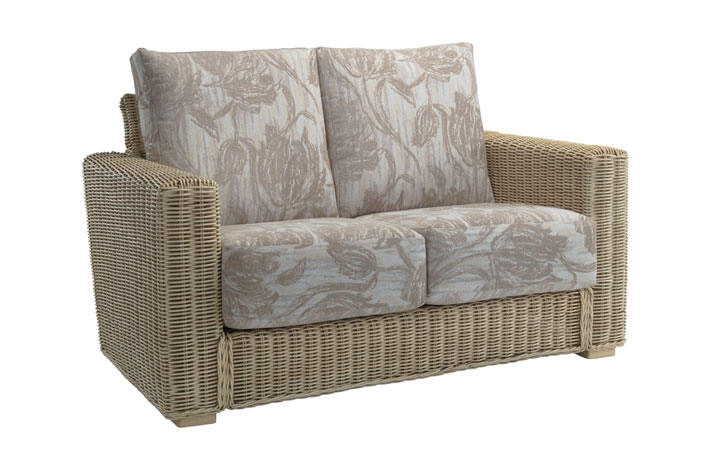 Burford Rattan Range in Natural Wash - Burford 2 Seat Sofa