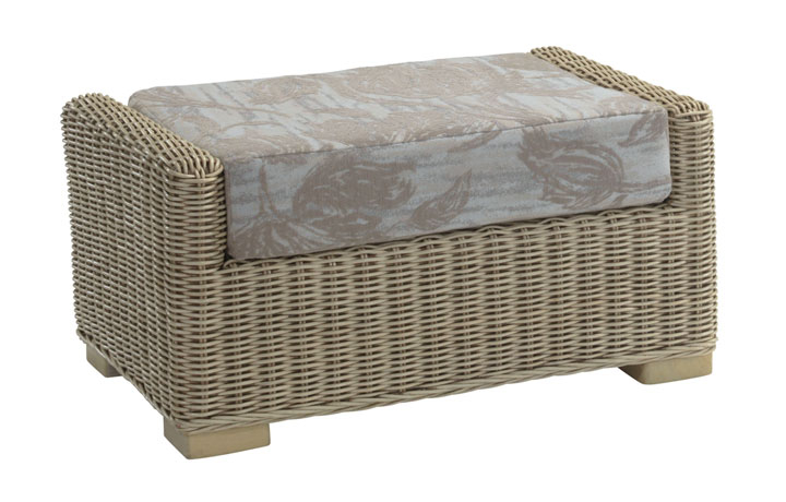 Burford Rattan Range in Natural Wash - Burford Footstool
