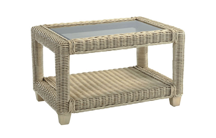 Burford Rattan Range in Natural Wash - Burford Coffee Table