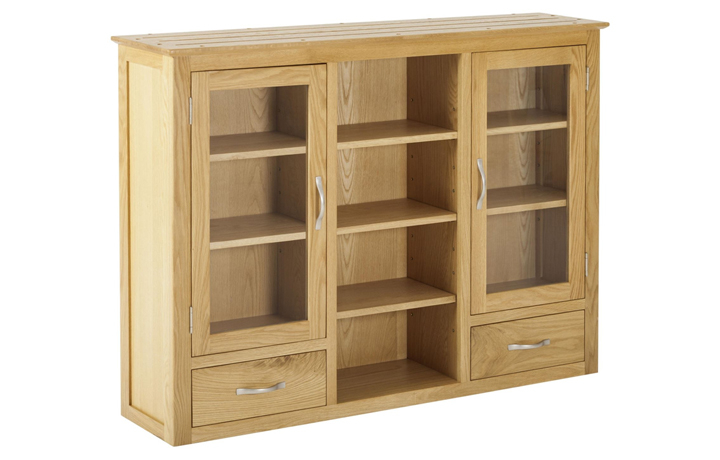 Dressers - Origin Oak 3 Door Dresser Top