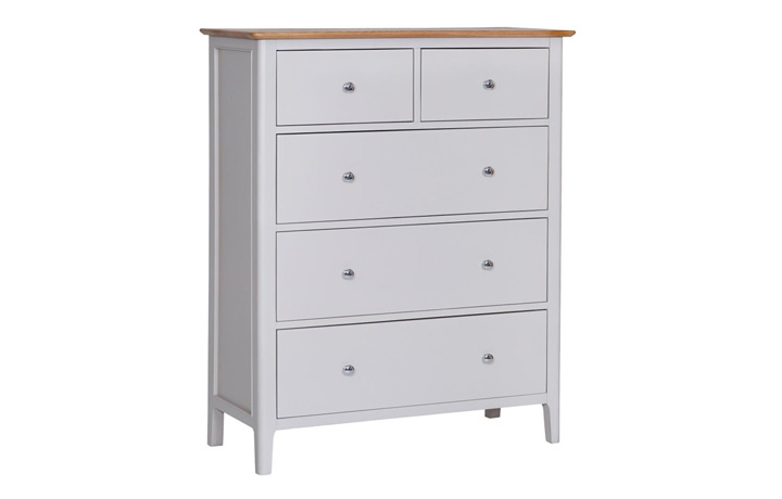 Chest Of Drawers - Odense Stone Painted Jumbo 2 Over 3 Chest