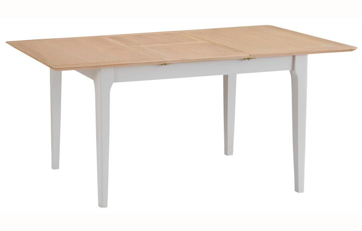 Dining Tables - Odense Stone Painted 1.2 Butterfly Extending Table