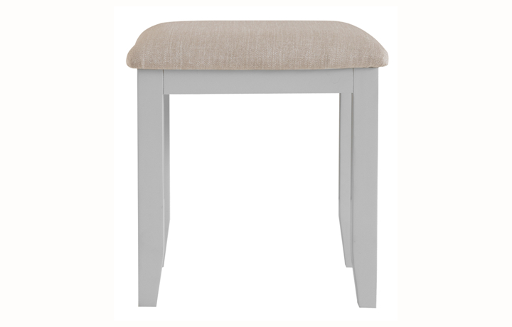 Regency Grey Painted Collection - Regency Grey Painted Dressing Stool
