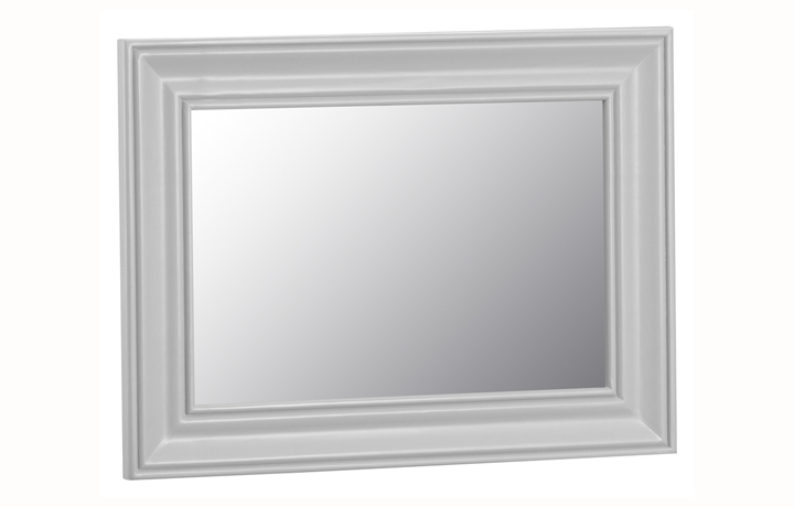 Regency Grey Painted Collection - Regency Grey Painted Large Wall Mirror