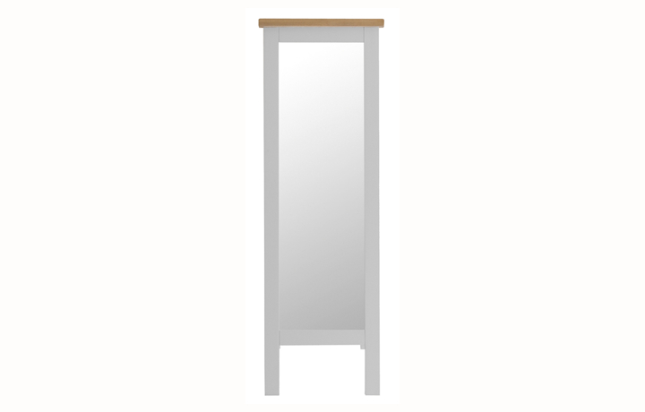 Regency Grey Painted Collection - Regency Grey Painted Cheval Mirror