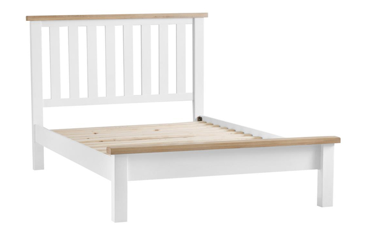 Beds & Bed Frames - Regency White Painted 4ft6 Double Bed Frame