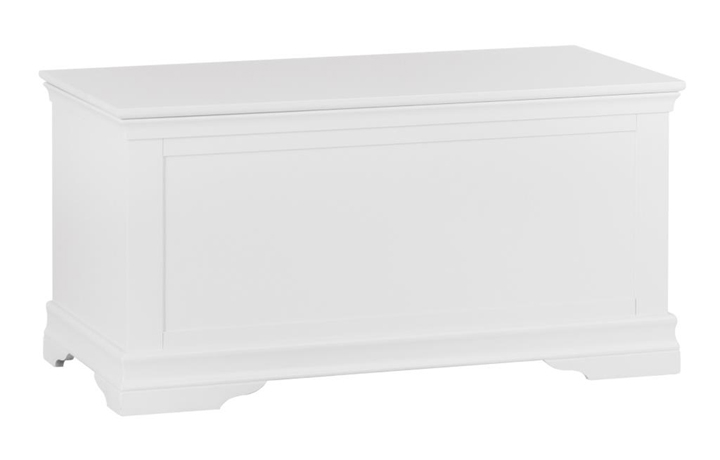 Blanket Boxes - Salthouse White Painted Blanket Box