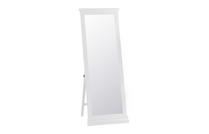 Mirrors - Salthouse White Painted Cheval Mirror