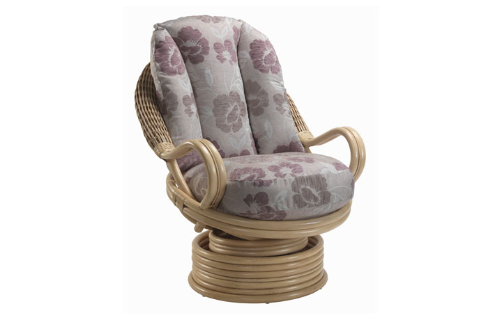 Harlow Rattan Range - Harlow Swivel Rcoking Chair