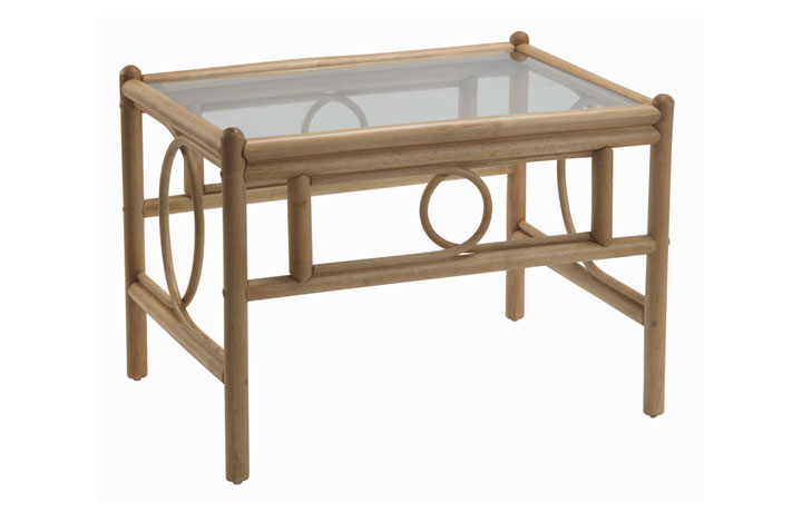 Madrid Cane Range - Madrid Coffee Table Light Oak