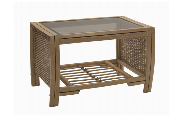 Manila Rattan Range - Manila Coffee Table Light Oak