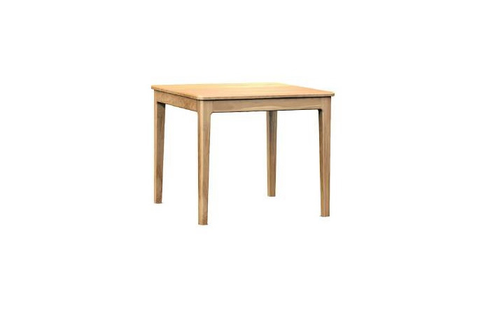 Dining Tables - Bergen Oak Square 90cm Dining Table