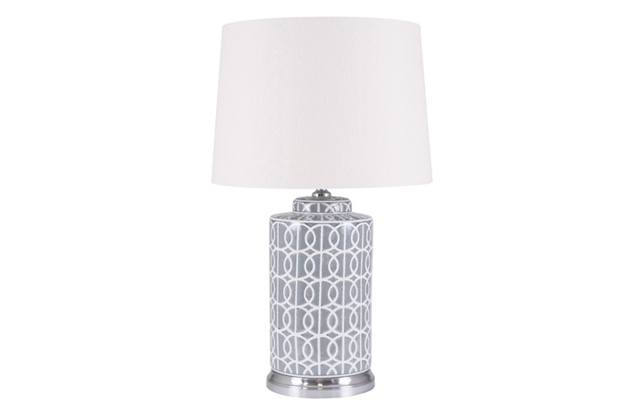 Pll049 Large White Pebble Lamp 681 Clearance Disc Material Information Upon Request Beds