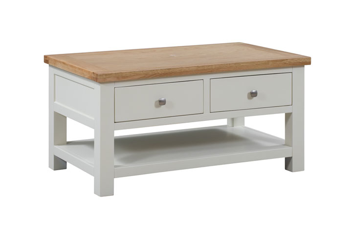 Coffee Tables - Lavenham Painted Coffee Table 2 Drawers