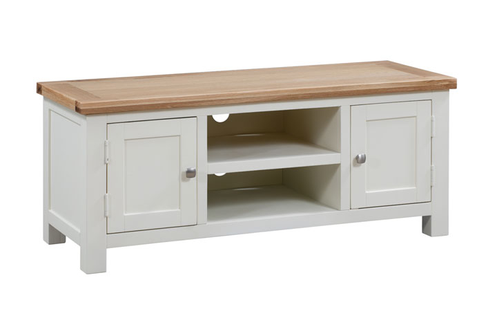 TV Cabinets - Lavenham Painted Large TV Unit
