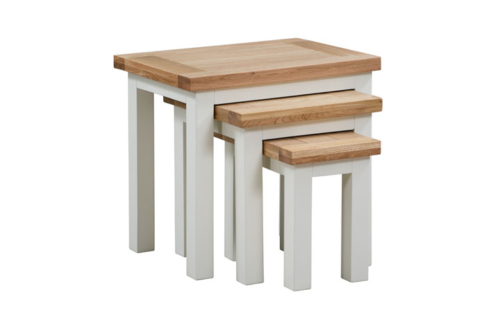 Nested Tables - Lavenham Painted Nest Of 3 Tables