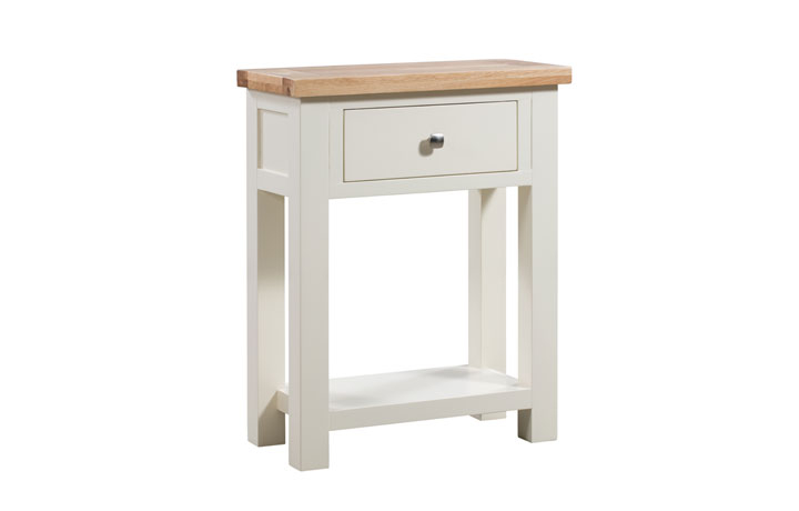Consoles - Lavenham Painted Small Console Table