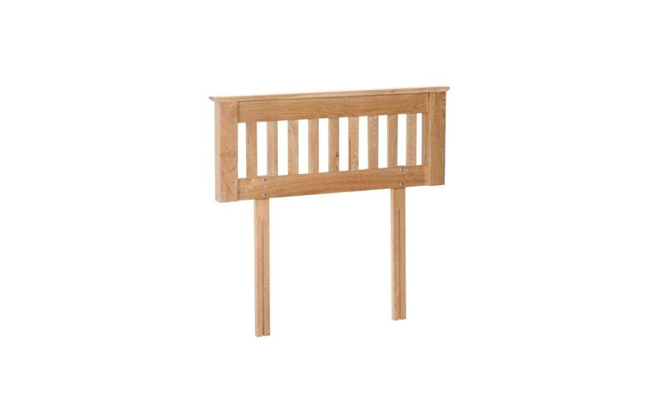 Blanket Boxes - Woodford Oak Small Blanket Box
