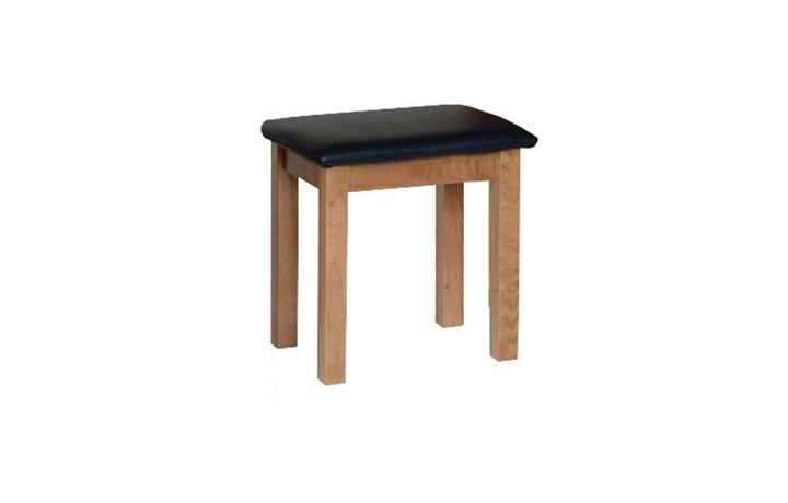 Dressing Tables & Stools - Woodford Solid Oak Dressing Table Stool