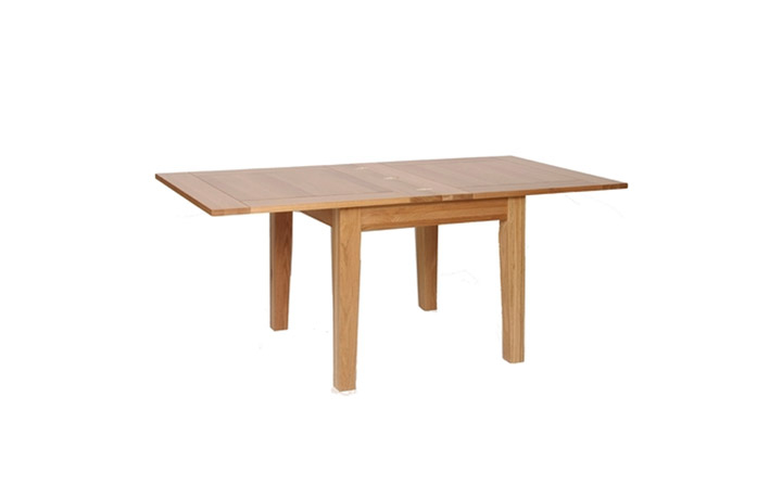 Dining Tables - Woodford Oak Flip Top Table (extended)