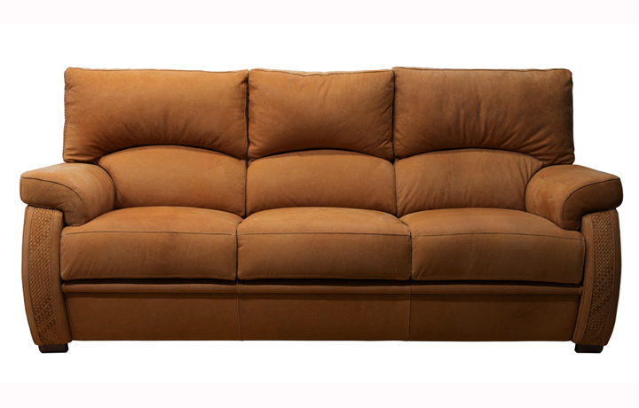 Oxford Leather Collection - Oxford 3 Seater Sofa