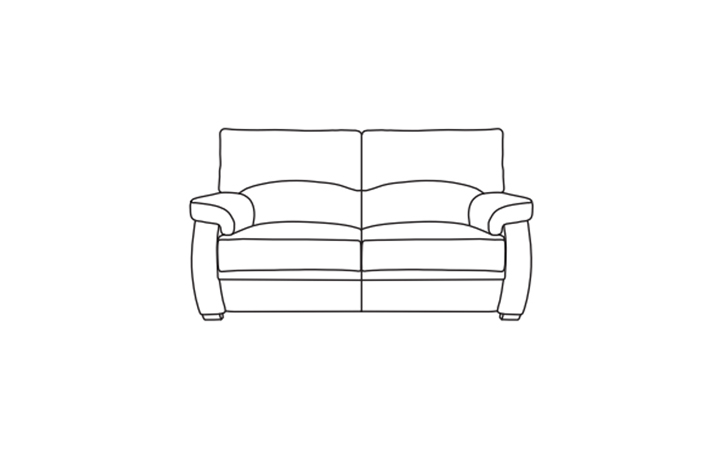 Oxford Leather Collection - Oxford 2 Seater Sofa