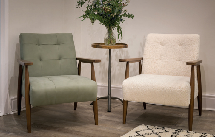 Accent Chairs & Stools - Shell Armchair Light Grey