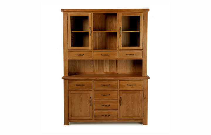 Dresser Tops & Larder Units - Hollywood Oak Large Dresser Top ONLY