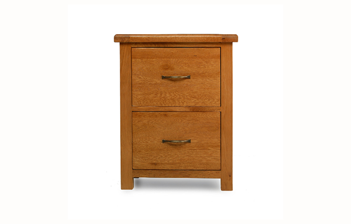 Office Furniture - Hollywood Oak Office Filling Cabinet