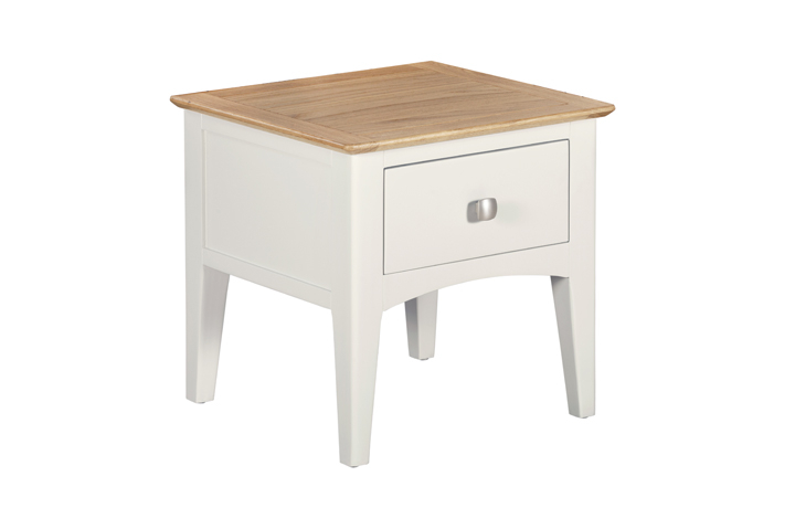 Coffee & Lamp Tables - Amira Painted Lamp Table With Drawer