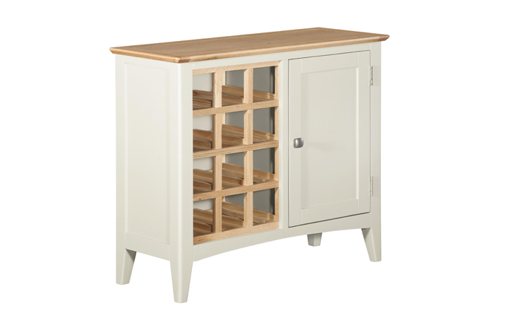 Sideboards & Cabinets - Amira Painted Wine Cabinet