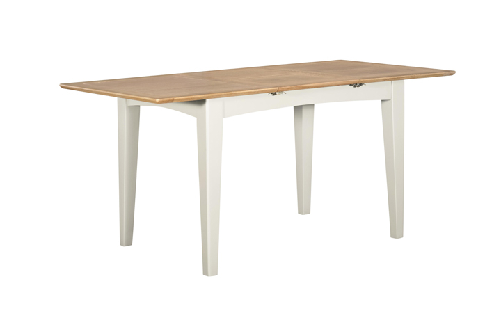 Dining Tables - Amira Painted Extending Dining Table 120-165cm