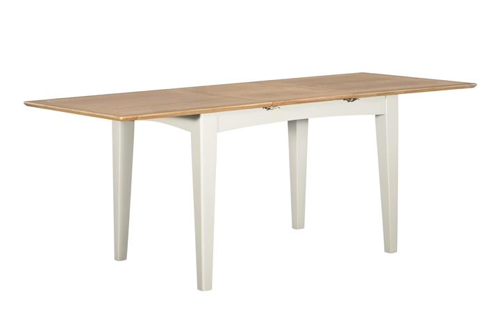Dining Tables - Amira Painted Extending Dining Table 160-210cm