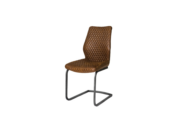 Native Oak Collection - Deco Antique Brown Dining Chair