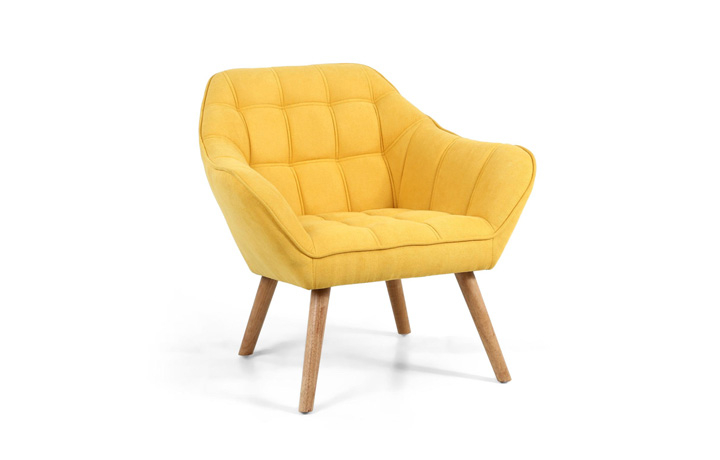 Accent Chairs & Stools - Funk Sunny Yellow Studio Chair