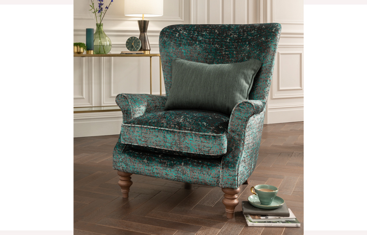 Accent Chairs & Stools - Matrix Sunny Yellow Accent Chair