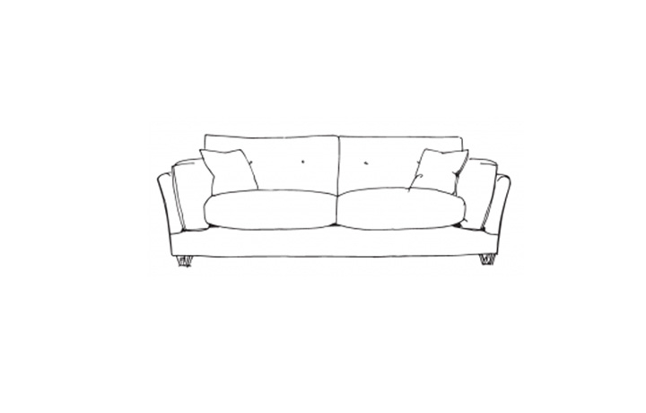 Slouch Collection - Slouch Extra Large Sofa