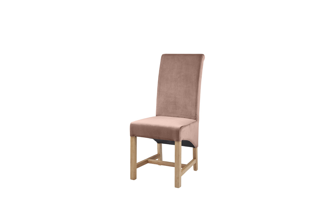 Chairs & Bar Stools - Hayes Rose Pink Velvet