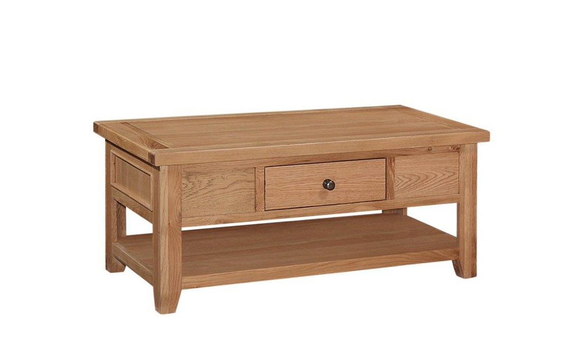 Royal Oak Collection - Royal Oak Coffee Table With Drawer