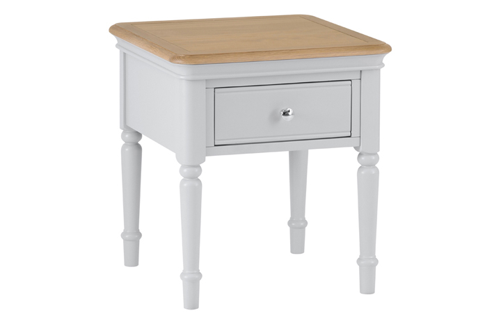 Painted Coffee Tables - Chelsea Painted Lamp Table With Drawer