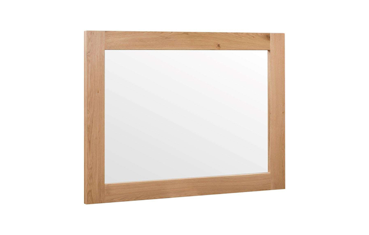 Edison Industrial Oak Range - Edison Oak Wall Mirror