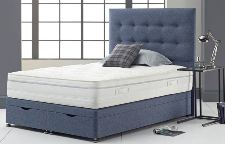 4ft6 Double Mattress & Divan Bases - 4ft6 Double Ice Gel Encapsulated 1000 Pocket Spring Mattress