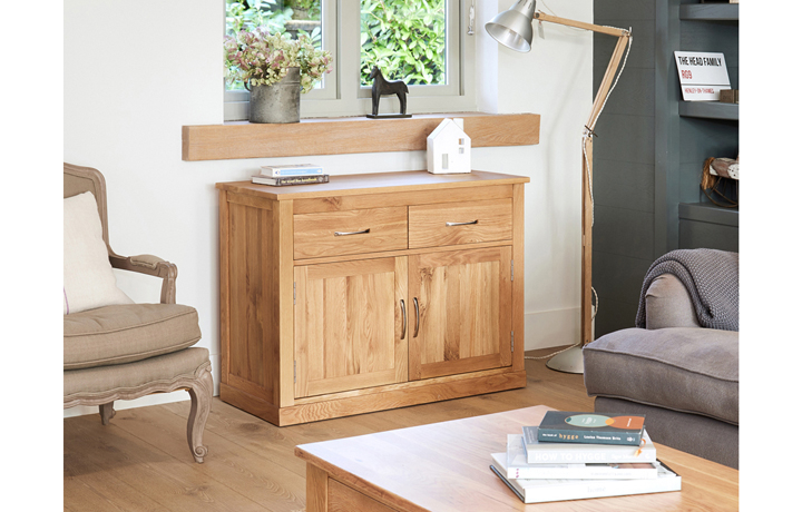 Pacific Oak Furniture Range (Web Exclusive) - Pacific Oak Small Sideboard