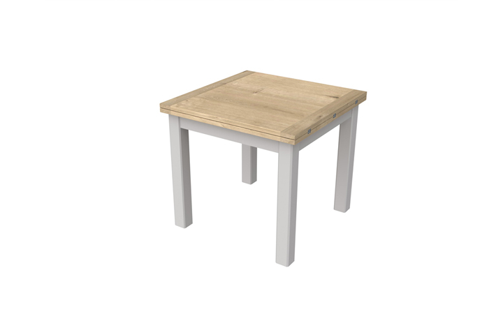 Grenada Painted Collection - Grenada Painted 85-170cm Flip Top Dining Table