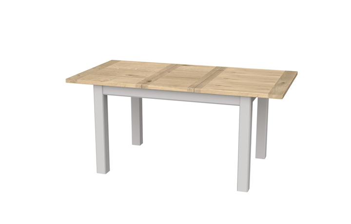 Grenada Painted Collection - Grenada Painted 125-165cm Extending Dining Table