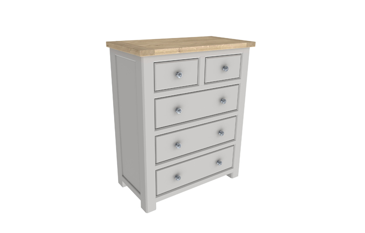 Grenada Painted Collection - Grenada Painted 2 Over 3 Chest