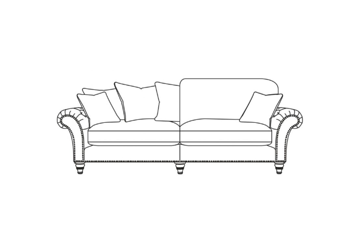 Keaton Collection - Keaton Extra Large Split Sofa