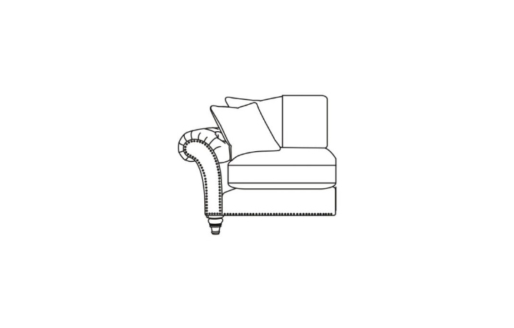 Keaton Collection - Keaton 1 Seater 1 Arm Sofa