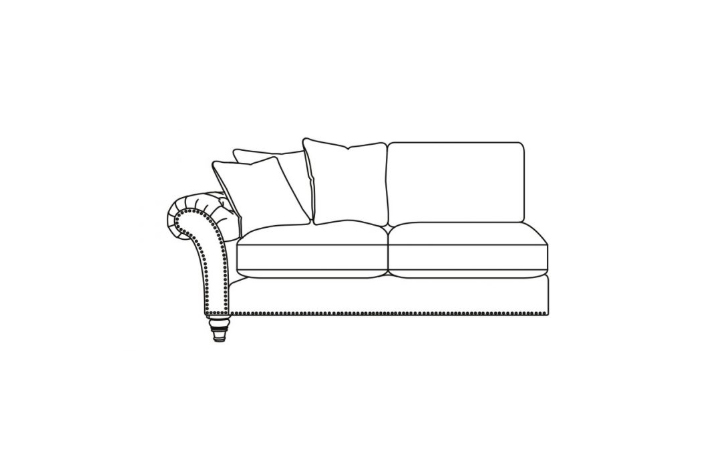 Keaton Collection - Keaton 2 Seater 1 Arm Sofa